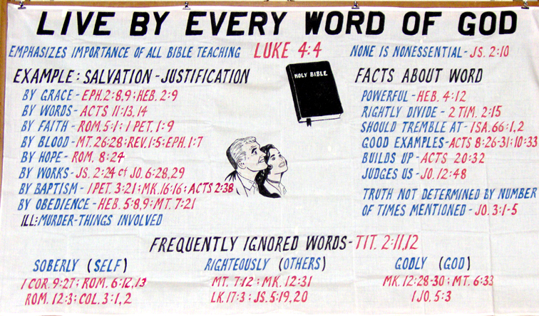 a report on the use of the word god in america Yes, we are suffering needlessly and dying from the apostasy - the great falling away from the whole word of god the apostasy, which is the falling away fr.