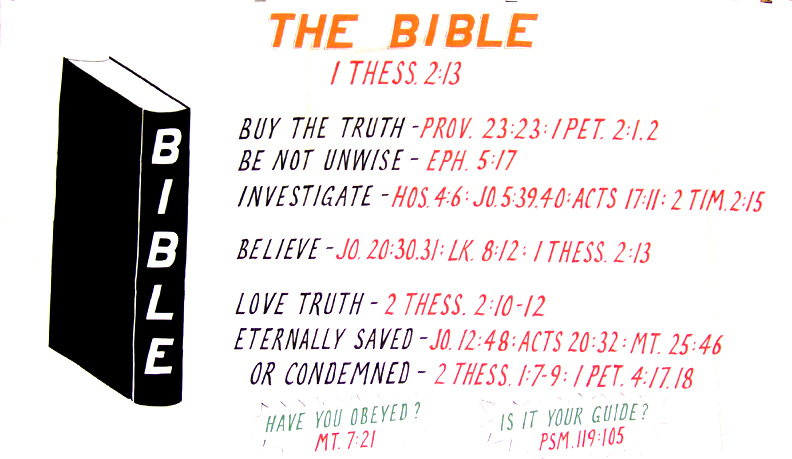 search for truth bible study chart pdf